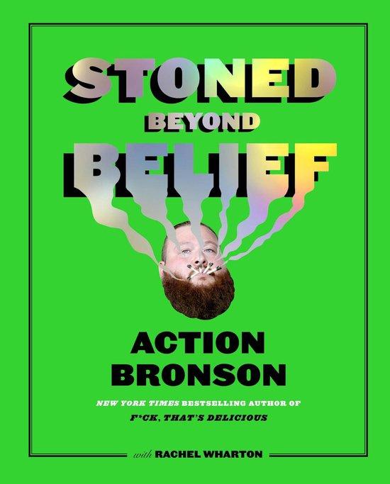 Boek cover Stoned Beyond Belief van Action Bronson (Hardcover)