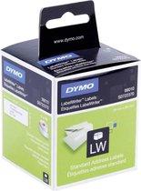 Dymo 99010 adressenlabels - Wit - 89x28mm - 130 Etiketten