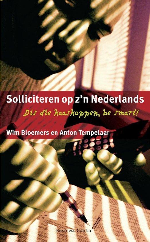 Persoonlijke vaardigheden - Solliciteren op z'n Nederlands - Wim Bloemers pdf epub