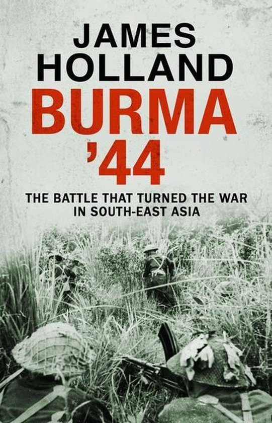 Boek cover Burma 44 van James Holland