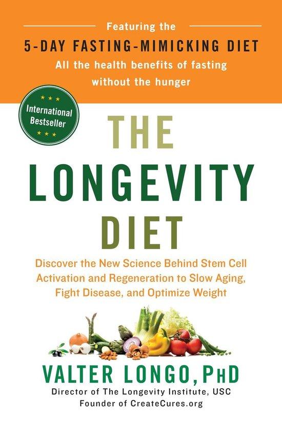 Boek cover The Longevity Diet van Valter Longo (Hardcover)