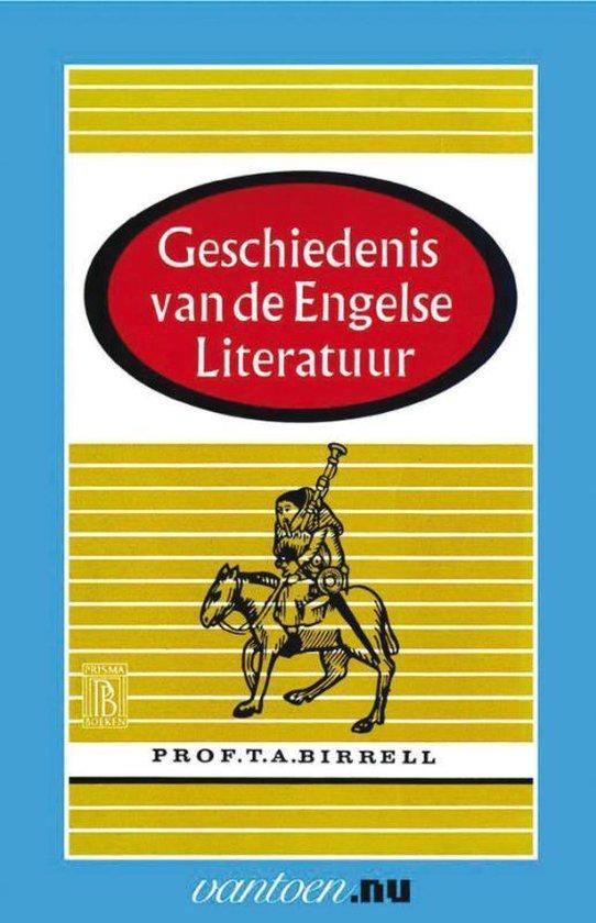 Vantoen.nu - Geschiedenis van de Engelse Literatuur - T.A. Birrell |
