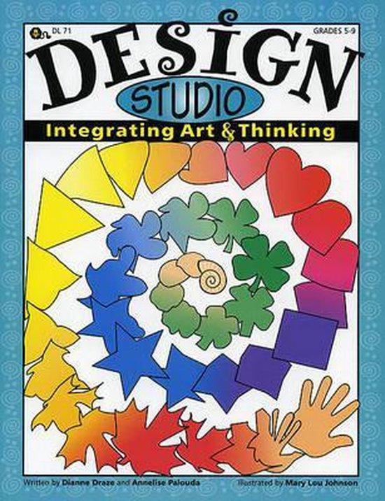 Boek cover Design Studio van Dianne Draze (Paperback)