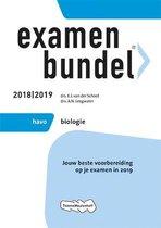 Boek cover Examenbundel havo Biologie 2018/2019 van