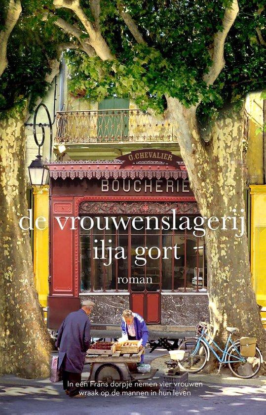 Boek cover De vrouwenslagerij van Ilja Gort (Onbekend)
