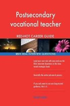 Postsecondary Vocational Teacher Red-Hot Career; 2511 Real Interview Questions