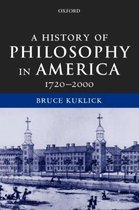 A History of Philosophy in America