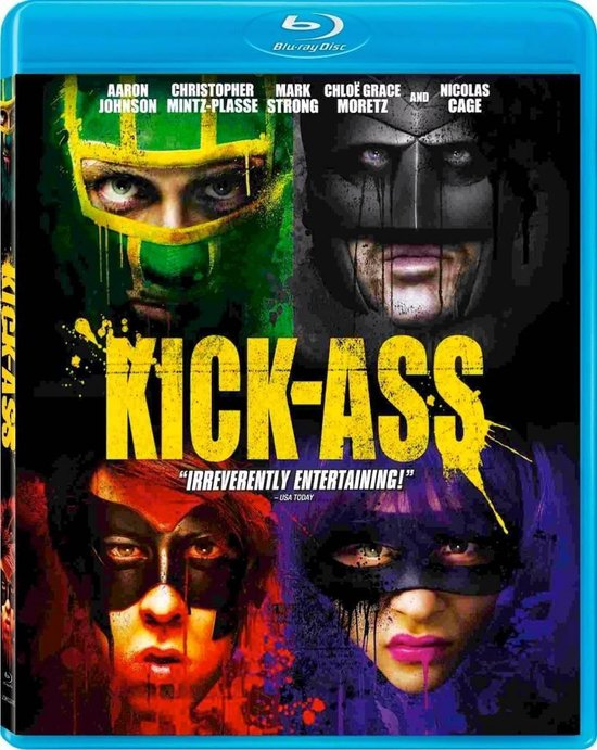Cover van de film 'Kick-Ass'
