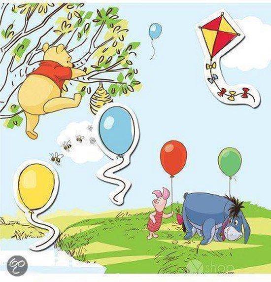 Winnie the Pooh Magnetisch Canvas