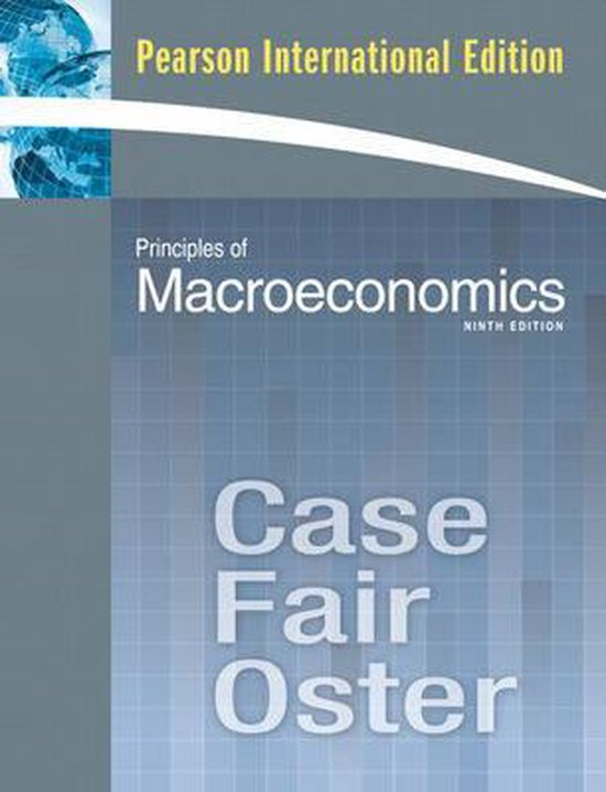 Boek cover Principles of Macroeconomics van Karl Case