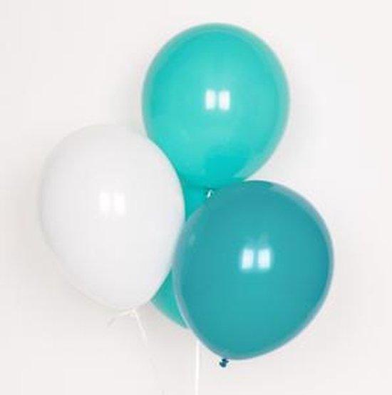 My Little Day - Ballonnen - Mix Aqua - 10 stuks - 30cm