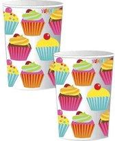 Cupcake bekertjes 8 stuks