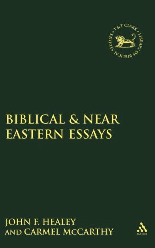 Boek cover Biblical and Near Eastern Essays van Carmel Mccarthy (Hardcover)