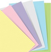 Afbeelding van Filofax Refill voor Refillable Classic A5 Notebook Dotted Pastel Papier