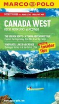 Boek cover Canada West (Rocky Mountains & Vancouver) Marco Polo Pocket Guide van Marco Polo