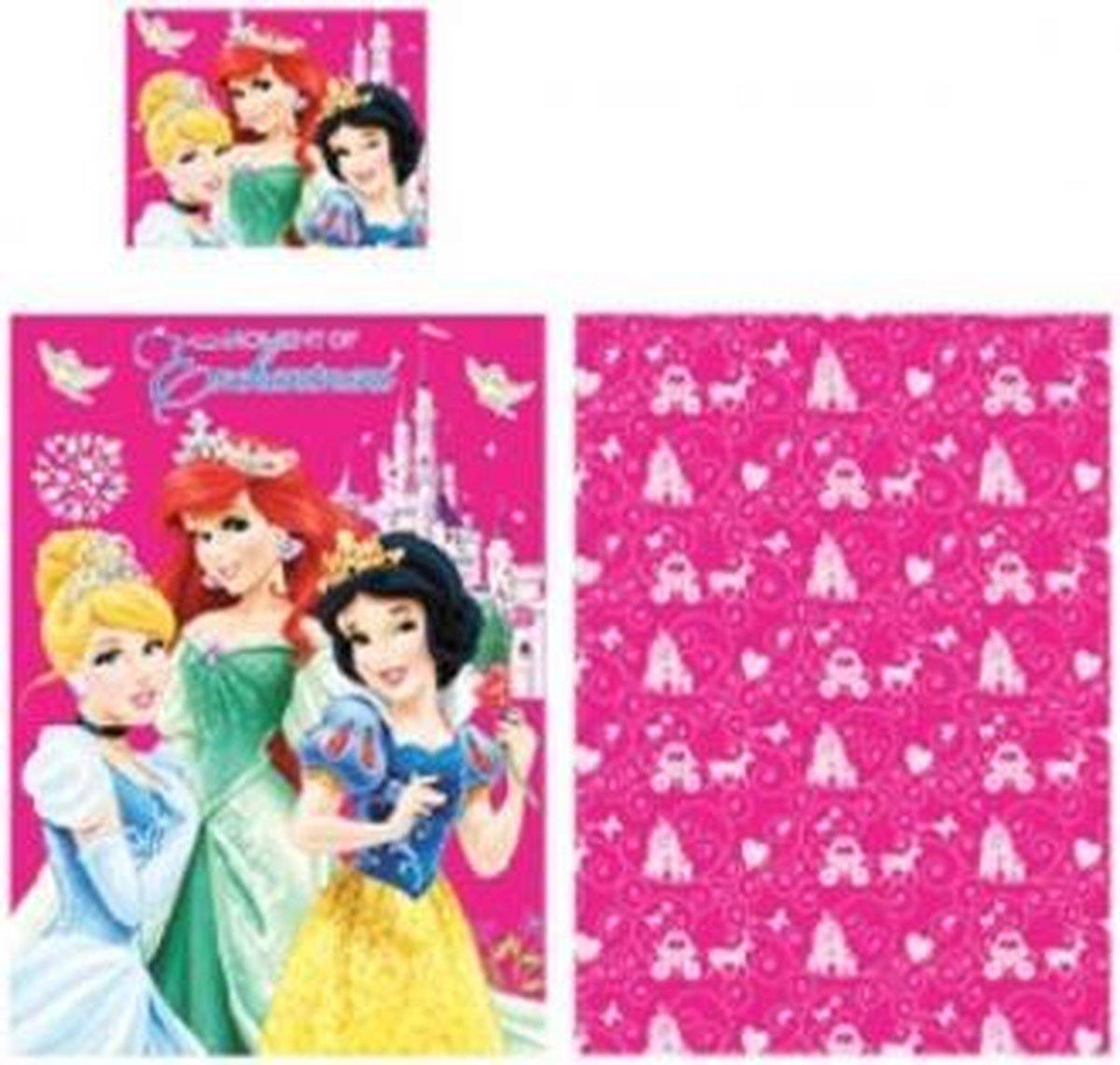 Disney Princess dekbedovertrek - 1-persoons - 140x200 cm kopen