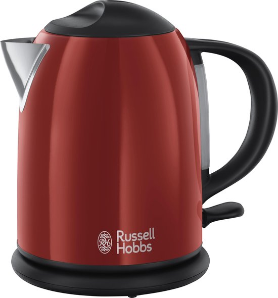 Russell Hobbs Colours Plus+ Compact 20191-70 - Waterkoker - Rood