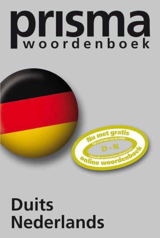 Boek cover Prisma Woordenboek Duits Nederlands van J.A.H. van Gemert (Paperback)