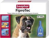 Beaphar Fiprotec Anti Vlooien en Tekenmiddel - Hond 20-40 kg - 3 Pipetten