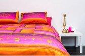 Cameleon Dekbedovertrek Marrakech Roze 140 x 200 cm