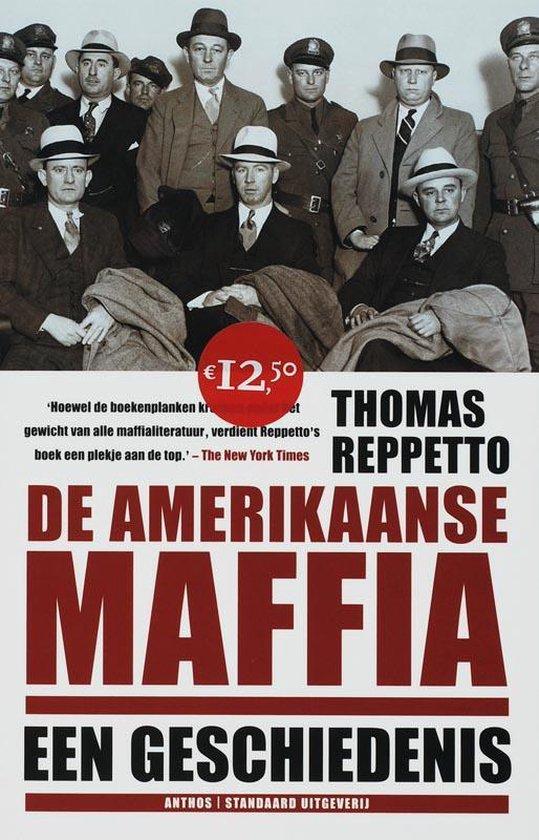 Cover van het boek 'De Amerikaanse maffia'