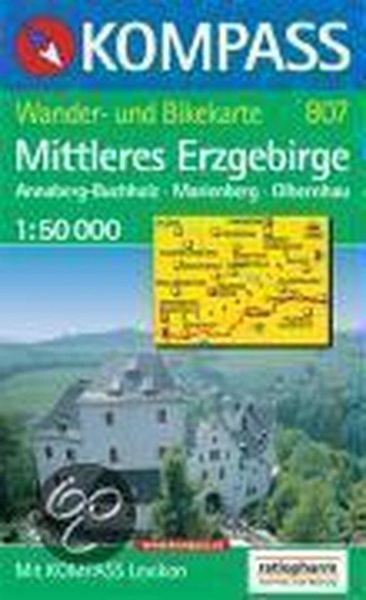 Cover van het boek '1026: Erzgebirge Mittleres 1:50, 000'
