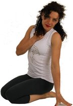 Yoga T-shirt - Wit - Maat S