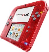 Nintendo 2DS Handheld Console - Transparant Rood