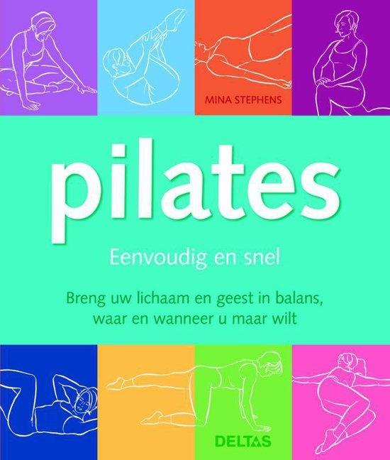 Cover van het boek 'Pilates'