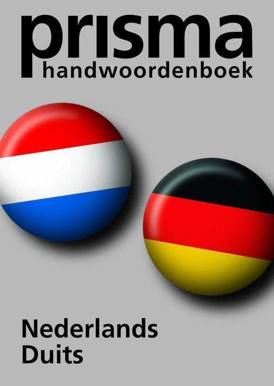 Prisma Handwoordenboek Nederlands Duits - Katja B. Zaich |