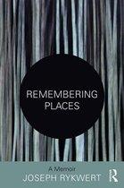 Boek cover Remembering Places van Joseph Rykwert