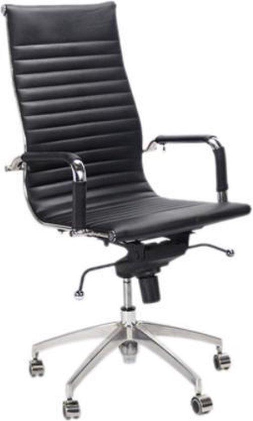 Bureaustoel Charles Eames.Bol Com Design Bureaustoel Lyon Zwart Inspired By Charles And
