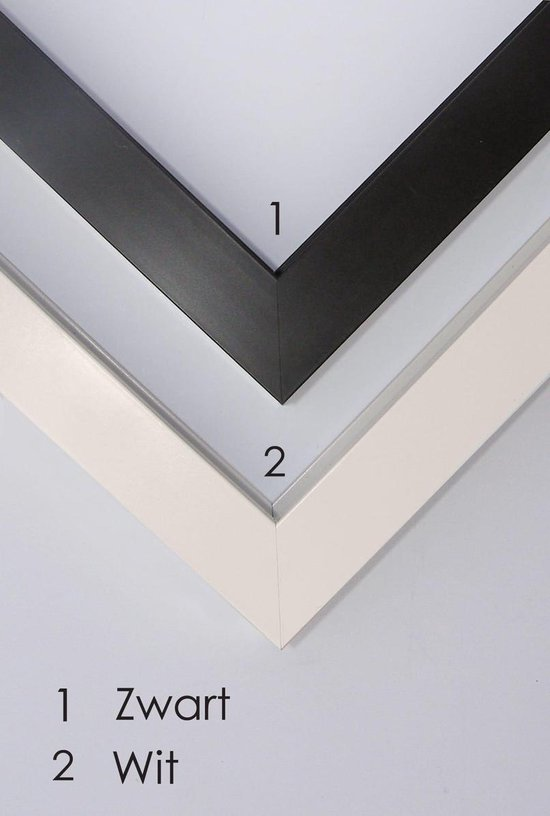 Homedecoration Victoria – Fotolijst – Fotomaat – 56x90 cm – zwart