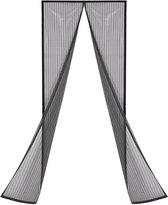 Haushalt Lamellenhor - 100x210 cm - Zwart - Deurhor
