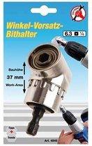 """Haakse bithouder voor 1/4"""" bits, slechts 37 mm, BGS 4846"""