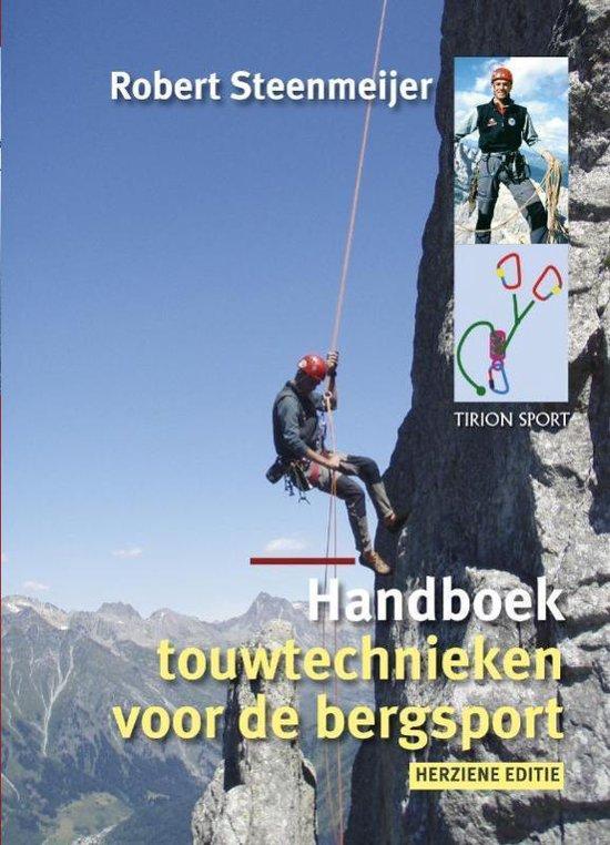 Cover van het boek 'Handboek touwtechnieken voor de bergsport'