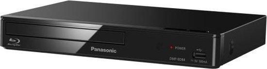 Panasonic DMP-BD84EG-K DVD/Blu-ray-speler Blu-Ray speler Zwart