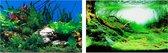 Ferplast aquarium achterwand blu 9040 80 x 40