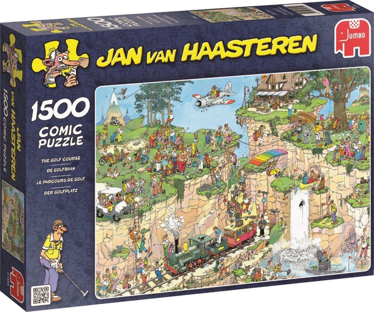 Jan van Haasteren De Golfbaan puzzel - 1500 stukjes - Jan van Haasteren