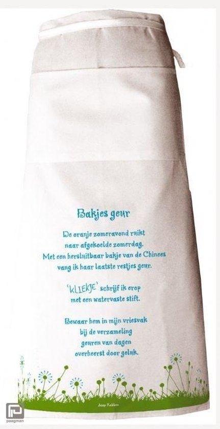 Poeziesloof Bakjes geur - Jaap Robben |