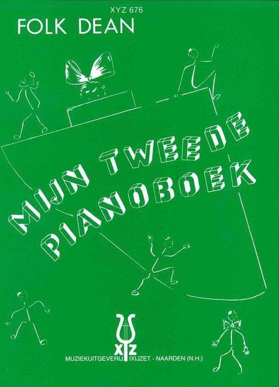 Boek cover Folk Dean Pianomethode | Mijn Tweede Pianoboek van Folk Dean (Onbekend)
