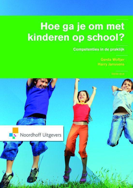 Hoe ga je om met kinderen op school? - Gerda Woltjer  