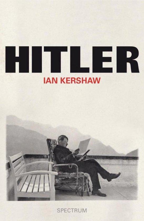Boek cover Hitler van Ian Kershaw (Hardcover)