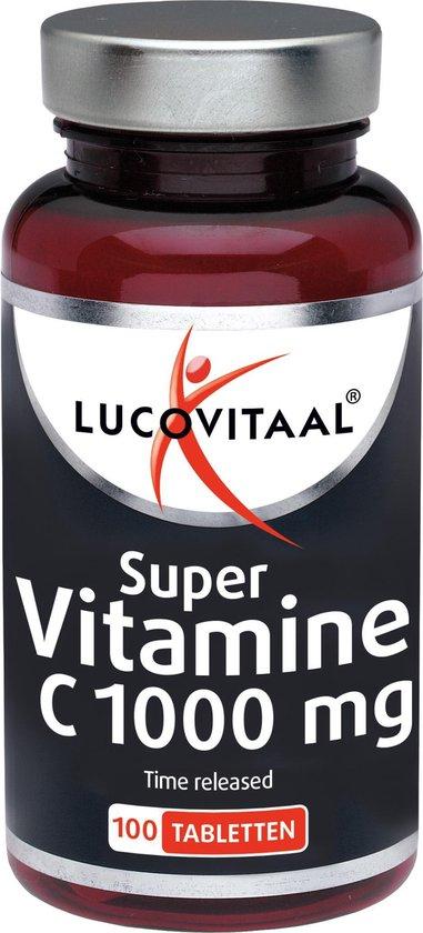 Lucovitaal Super Vitamine C 1000mg Time Released Voedingssupplement - 100...