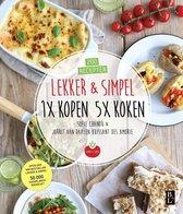 Boekomslag van 'Lekker & Simpel. 1x kopen 5x koken'