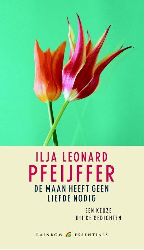 Cover van het boek 'De maan heeft geen liefde nodig' van I.L. Pfeijffer