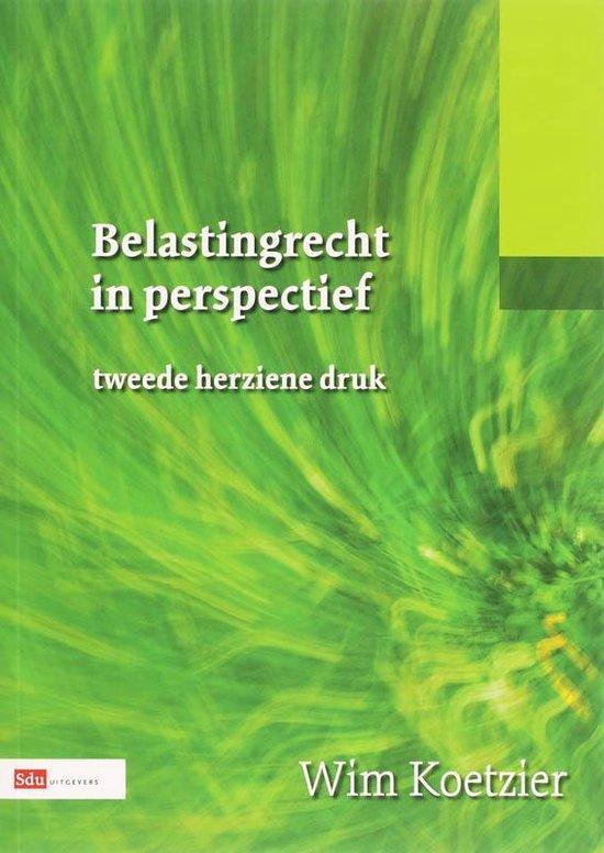 Belastingrecht In Perspectief - Wim Koetzier   Readingchampions.org.uk