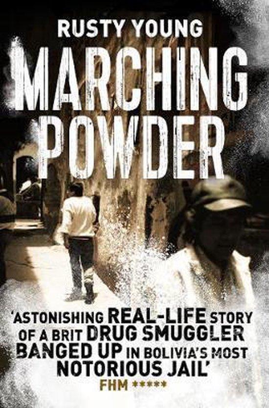 Boek cover Marching Powder van Rusty Young (Paperback)
