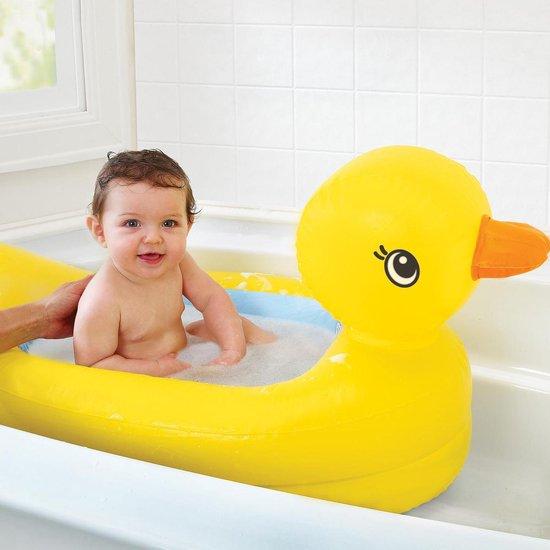 Product: Munchkin opblaasbaar Babybadje - Geel, van het merk Munchkin