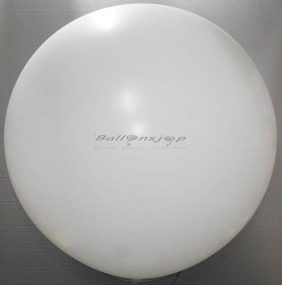 reuze ballon 80 cm 32 inch wit